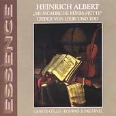 Essence - Albert: Songs of Love and Death / Konrad Junghaenel