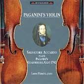 Paganini's Violin / Salvatore Accardo, Laura Manzini