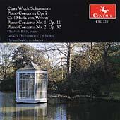 C. Schumann, Weber: Piano Concertos / Rich, Burkh