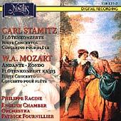 Stamitz, Mozart: Flute Concertos, etc / Racine, Fournillier