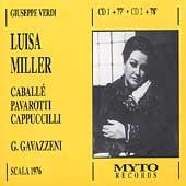 Verdi: Luisa Miller / Gavazzeni, Caballe, Pavarotti, et al