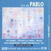 De Pablo: Notturnino, Concerto Da Camera, etc / Mefano