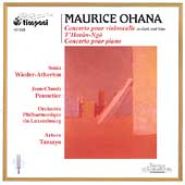 Ohana: T'Haran-ngo, Concerto for Cello, etc / Tamayo, et al