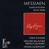 Messiaen: Quartet for the End of Time / Oleg Kagan, et al