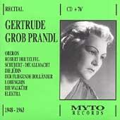 Weber, Wagner, Strauss, et al / Gertrude Grob-Prandl