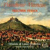M. Franck: Motetten, Konzerte, Lieder / Bratschke, et al