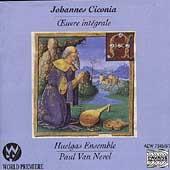 Ciconia: Oeuvre integrale / Paul Van Nevel, Huelgas Ensemble