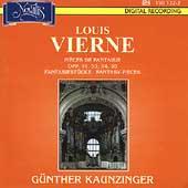 Vierne: Pieces de fantaisie / Guenher Kaunzinger