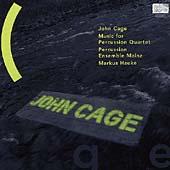 Cage: Music for Percussion Quartet / Marcus Hauke, et al
