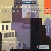 Castelnuovo-Tedesco: Complete Works for Cello & Piano
