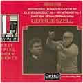 Beethoven: Concerto no 3, Symphony no 5, etc / Szell, et al