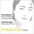 Boulez: Notations for Piano, etc;  Barraque: Sonata / Chen