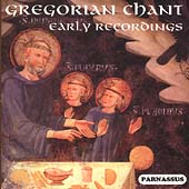 Gregorian Chant - The Early Interpreters 1928-1936