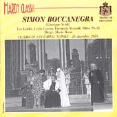 Verdi: Simon Boccanegra / Rossi, Gencer, Gobbi, Mazzoli, Picchi, et al