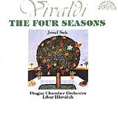 Vivaldi: The Four Seasons / Suk, Hlavacek, Prague CO