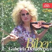 Biber: Mystery Sonatas 2 / Demeterova, Tuma