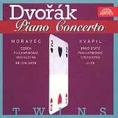 TWINS  Dvorak: Piano Concerto / Moravec, Kvapil, et al