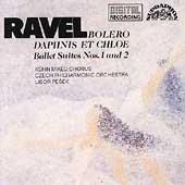 Ravel: Bolero, Daphnis et Chloe Suites 1 & 2 / Libor Pesek(cond), Kuhn Mixed Chorus, Czech Philharmonic Orchestra, etc