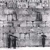 Lasso: Missa Tous les regrez / Singer Pur