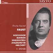 Gounod: Faust / Steiner, Rosvaenge, Bohnen, et al