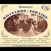 ロッシーニ: リッチャルドとゾライデ