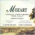Mozart: Violin Concertos no 3, 4 & 5 / Ferras, Spivakov