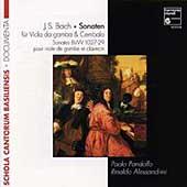 Documenta - Bach: Gamba Sonaten / Pandolfo, Alessandrini