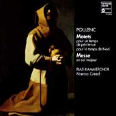 Poulenc: Motets, Messe / Creed, RIAS Kammerchor