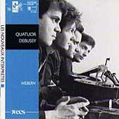 Les Nouveaux Interpretes - Webern / Quatuor Debussy