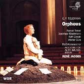 Telemann: Orpheus / Jacobs, Trekel, Roschmann, Ziesak, et al