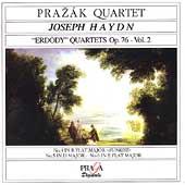 Haydn: Erdoedy Quartets Op 76 no 4-6 / Prazak Quartet
