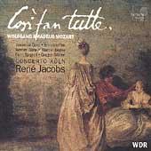 Mozart: Cosi fan tutte / Jacobs, Concerto Koeln, Gens, et al