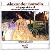 Borodin: String Quartet no 2, etc / Klepac, Prazak Quartet