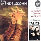 Mendelssohn: String Quartets Op 12 & 13 / Talich Quartet