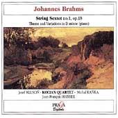 Brahms: String Sextet, Theme and Variations / Kocian Quartet