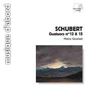 Schubert: Quatuors no 12 & 15 / Melos Quartet