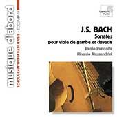 Bach: Sonates pour Viola de Gamba / Pandolfo, Alessandrini