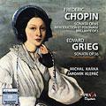 ショパン: チェロソナタ Op.65、序奏と華麗なポロネーズ Op.3、グリーグ: チェロソナタ Op.36