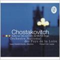 Shostakovich: Suite on Verses of Michelangelo Buonarroti Op.145a, Four Monologues to Words by A Pushkin Op.91 / Isaac Karabtchevsky(cond), Orchestre National des Pays de la Loire, etc