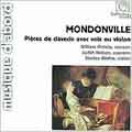 ジャン=ジョセフ・モンドンヴィル: 声またはヴァイオリン付きのクラヴサン曲集 Op.5