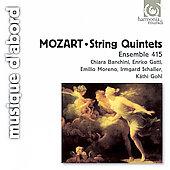 Mozart: String Quintets No.3, No.4 (4/1994) / Chiara Banchini(cond), Ensemble 415