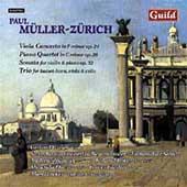 Mueller-Zuerich: Viola Concerto, etc / Stoutz, Wieser, et al