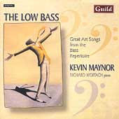 The Low Bass - Art Songs from the Bass Repertoire / Maynor