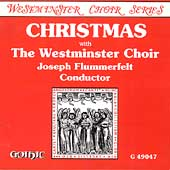 Christmas with the Westminster Choir / Joseph Flummerfelt
