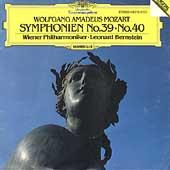 Mozart: Symphonies No.39, No.40 / Leonard Bernstein(cond), Vienna Philharmonic Orchestra