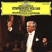 Beethoven: Symphonies 5 & 8, etc / Bernstein, Vienna PO