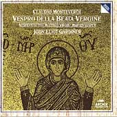 Monteverdi: Vespro della Beata Vergine (5/1989) / John Eliot Gardiner(cond), English Baroque Soloists, The Monteverdi Choir, The London Oratory Junior Choir, Ann Monoyios(S), Michael Chance(C-T), Bryn Terfel(Br), etc