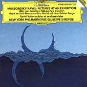 Mussorgsky/Ravel: Pictures at an Exhibition, etc / Sinopoli