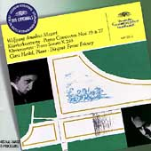 クララ・ハスキル/Mozart: Piano Concertos No.19, No.27, Piano Sonata No.2 / Clara Haskil(p), Ferenc Fricsay(cond), Bavarian State Orchestra[4497222]
