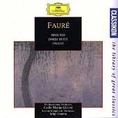 Classikon  Faure: Requiem, Pavane / Guilini, Ozawa